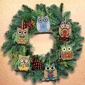 Owl Ornaments Counted Cross Stitch Kit3inX3in 14 Count Set Of 6