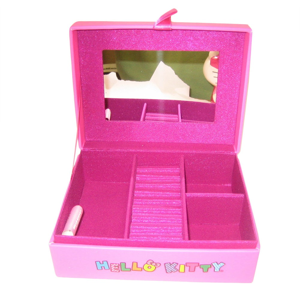 8384d3d85 Shop Hello Kitty Large Pink Jewelry Box - Free Shipping On Orders Over $45  - Overstock - 10563090