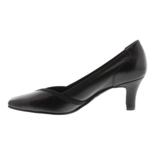 Women's Rose Petals by Walking Cradles Rayna Pump Black Nappa - Free  Shipping Today - Overstock.com - 17641483
