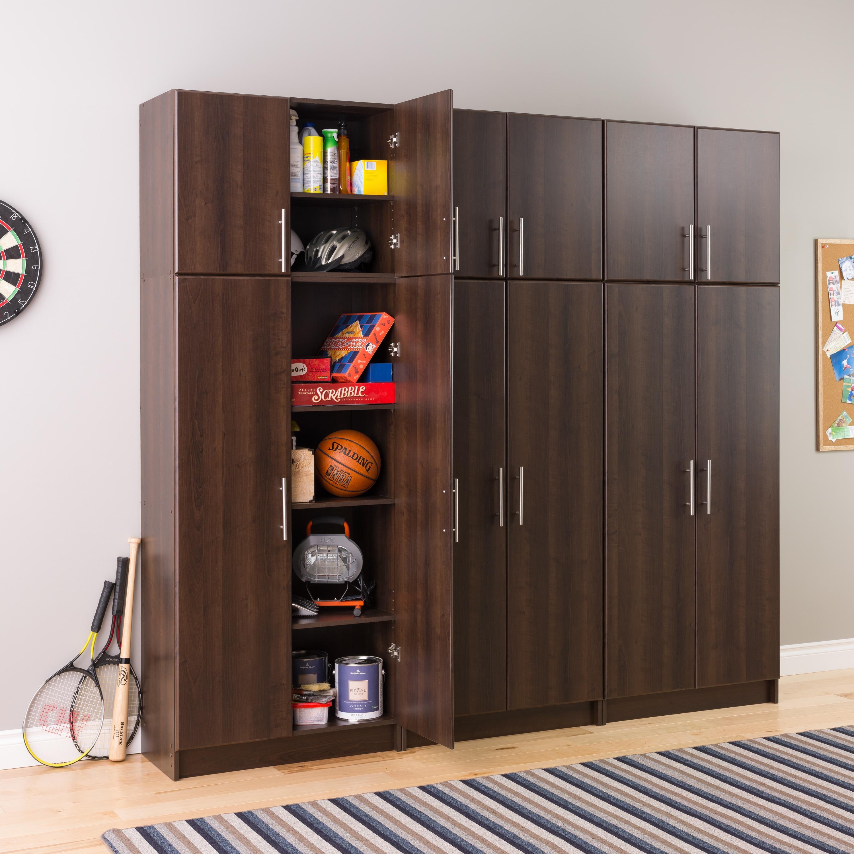 Prepac Everett Espresso Elite 32 Inch Storage Cabinet Free Shipping Today 17643008