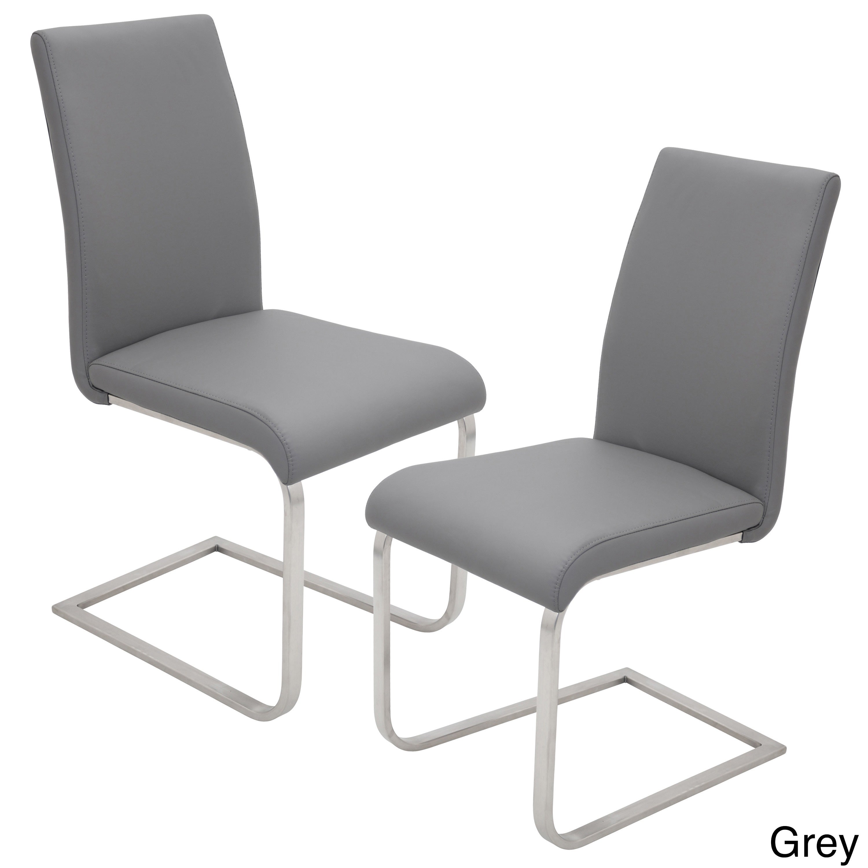silver brushed metal chair woven. Oliver \u0026 James Stanya Contemporary Steel Dining Chairs (Set Of 2) - Free Shipping Today Overstock 17645826 Silver Brushed Metal Chair Woven M