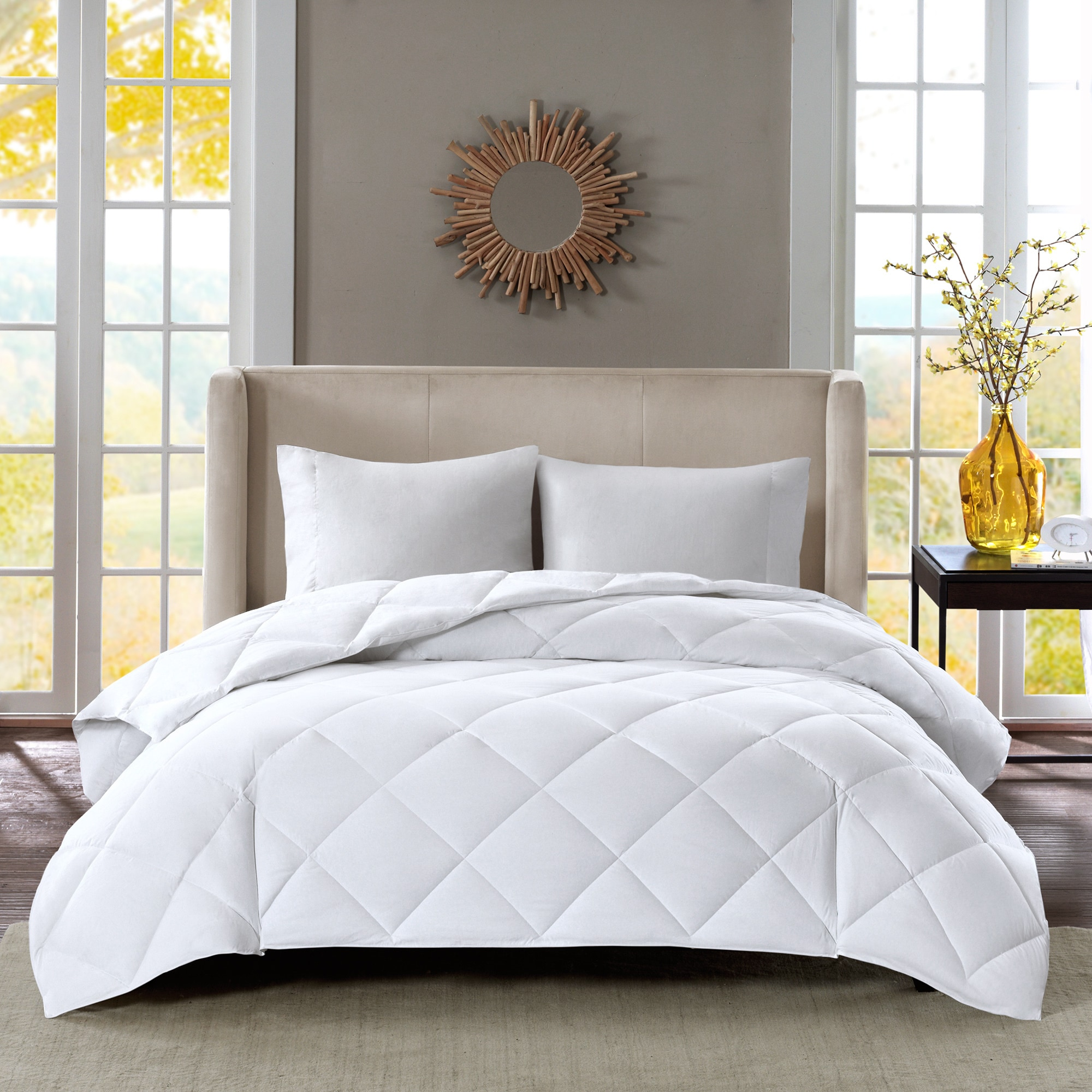 count sleep free sateen down treatment scotchgard shipping level white true product number today with by bedding north bath thread cotton overstock philosophy comforter