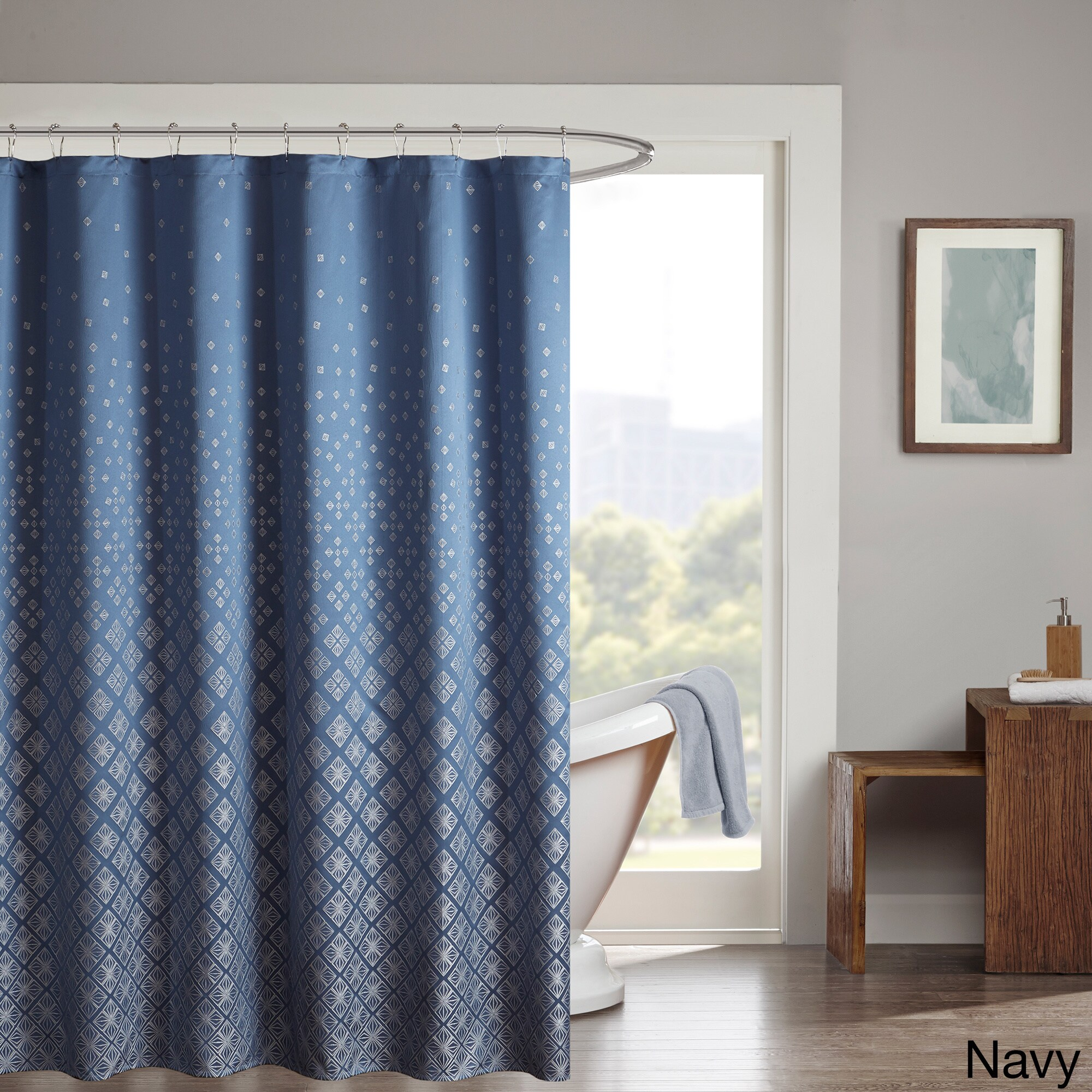 Shop Madison Park Rae Shower Curtain - Free Shipping Today ...