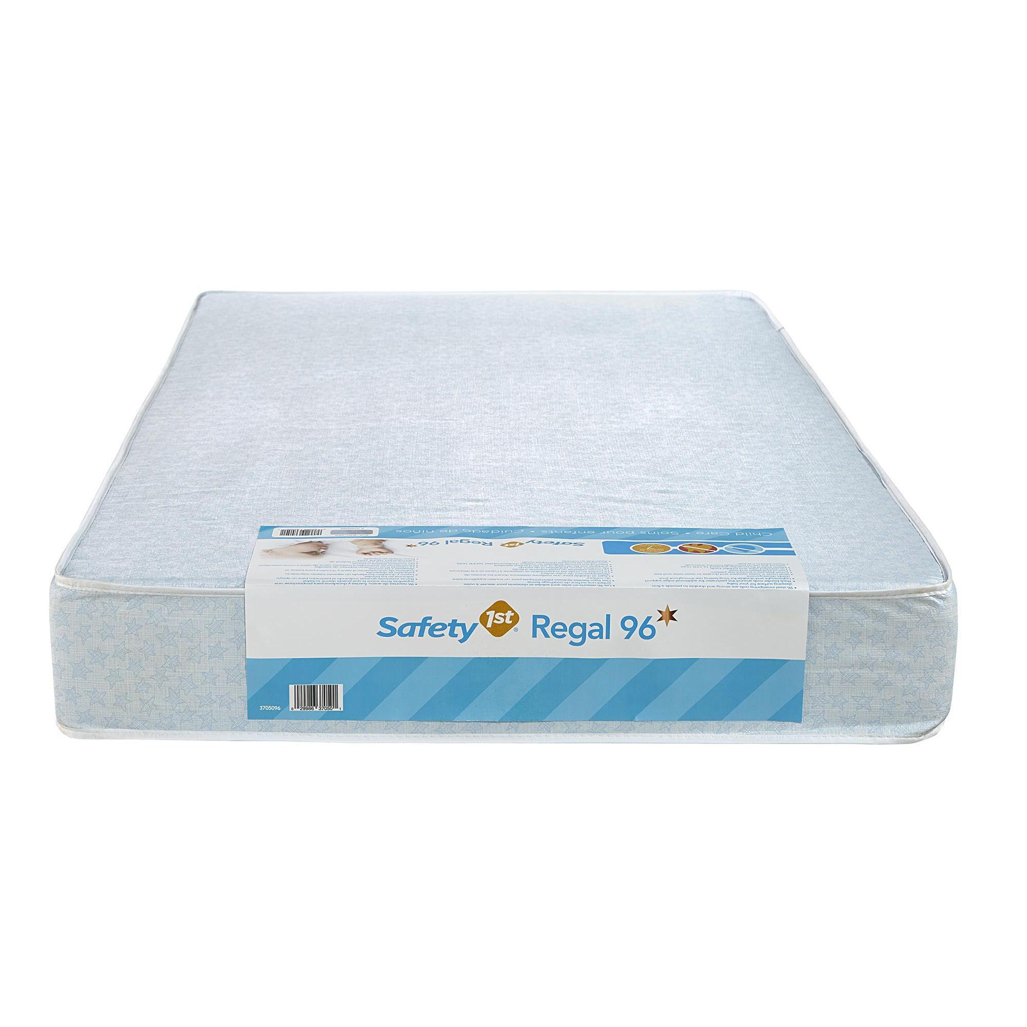 shop dhp safety first regal 96 blue baby mattress - free shipping
