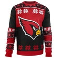 Forever Collectibles NFL Arizona Cardinals Big Logo Crew Neck Ugly Sweater