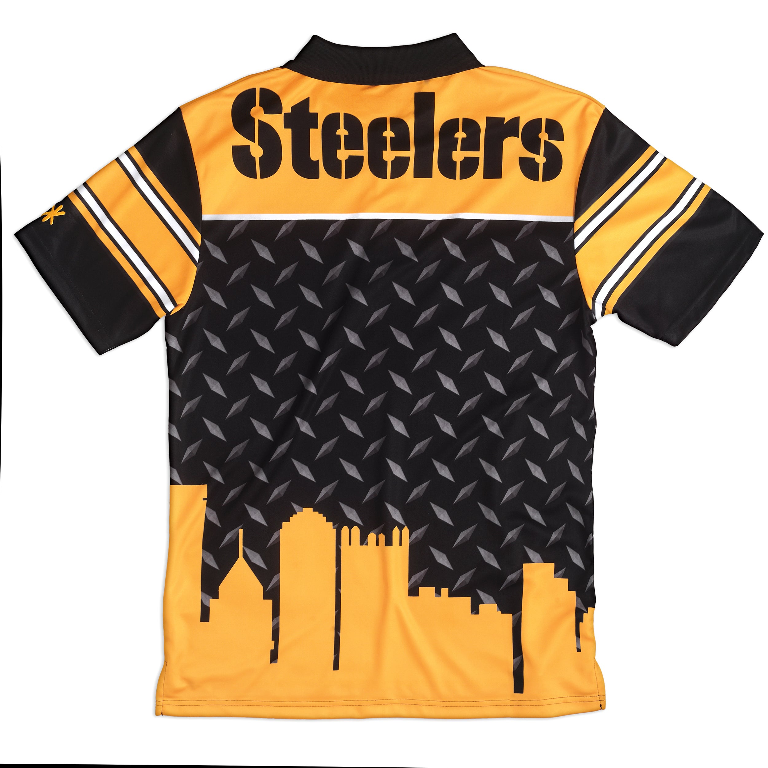 Forever Collectibles Pittsburgh Steelers NFL Polyester Thematic Polo