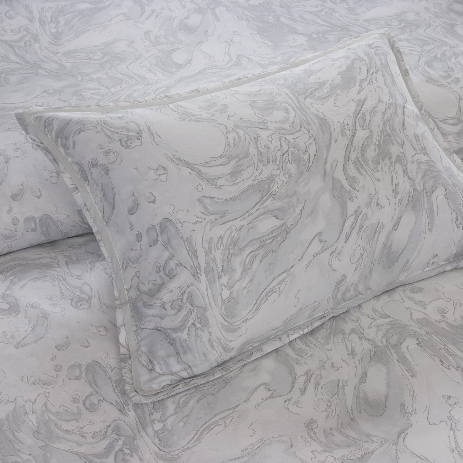 74ca9e692a Shop Metropolitan Home Marble Cotton 3-piece Duvet Cover Set - Free  Shipping Today - Overstock - 10583396