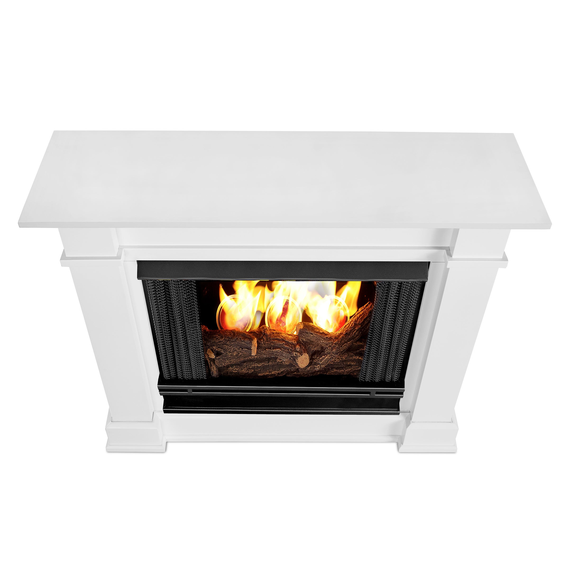 stand fireplace indoor flame real insert with burning fresno fuel tv gel fireplaces reviews