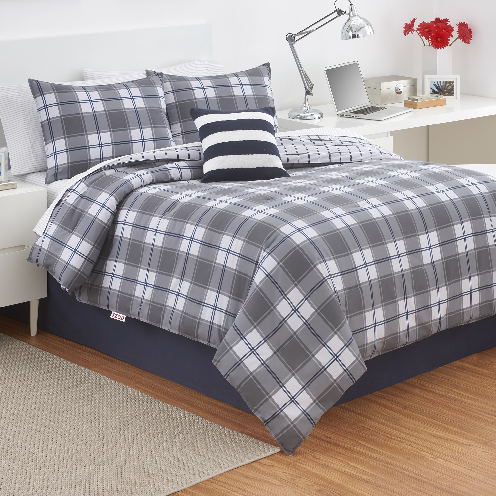 plaid khaki collections com search ivory dillards comforter bedding navy zi home red term