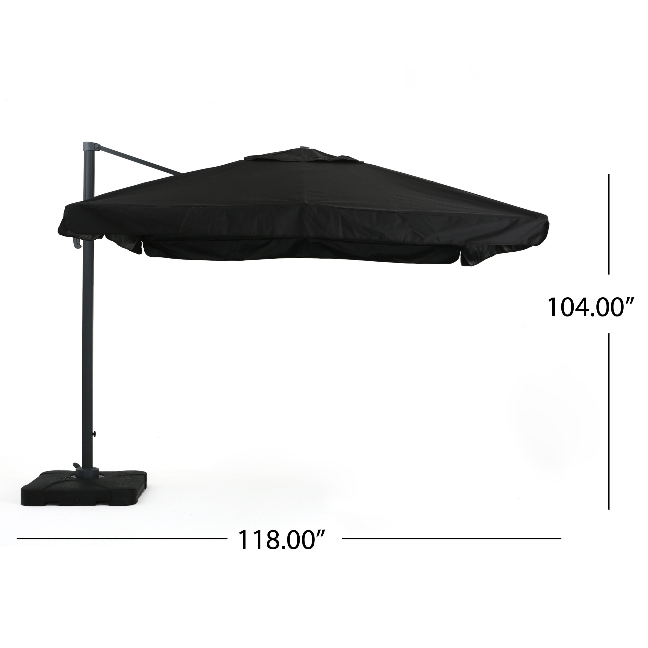 Outdoor Merida 9.8-foot Canopy Umbrella with Base by Christopher Knight Home - Free Shipping Today - Overstock.com - 17665260  sc 1 st  Overstock.com & Outdoor Merida 9.8-foot Canopy Umbrella with Base by Christopher ...