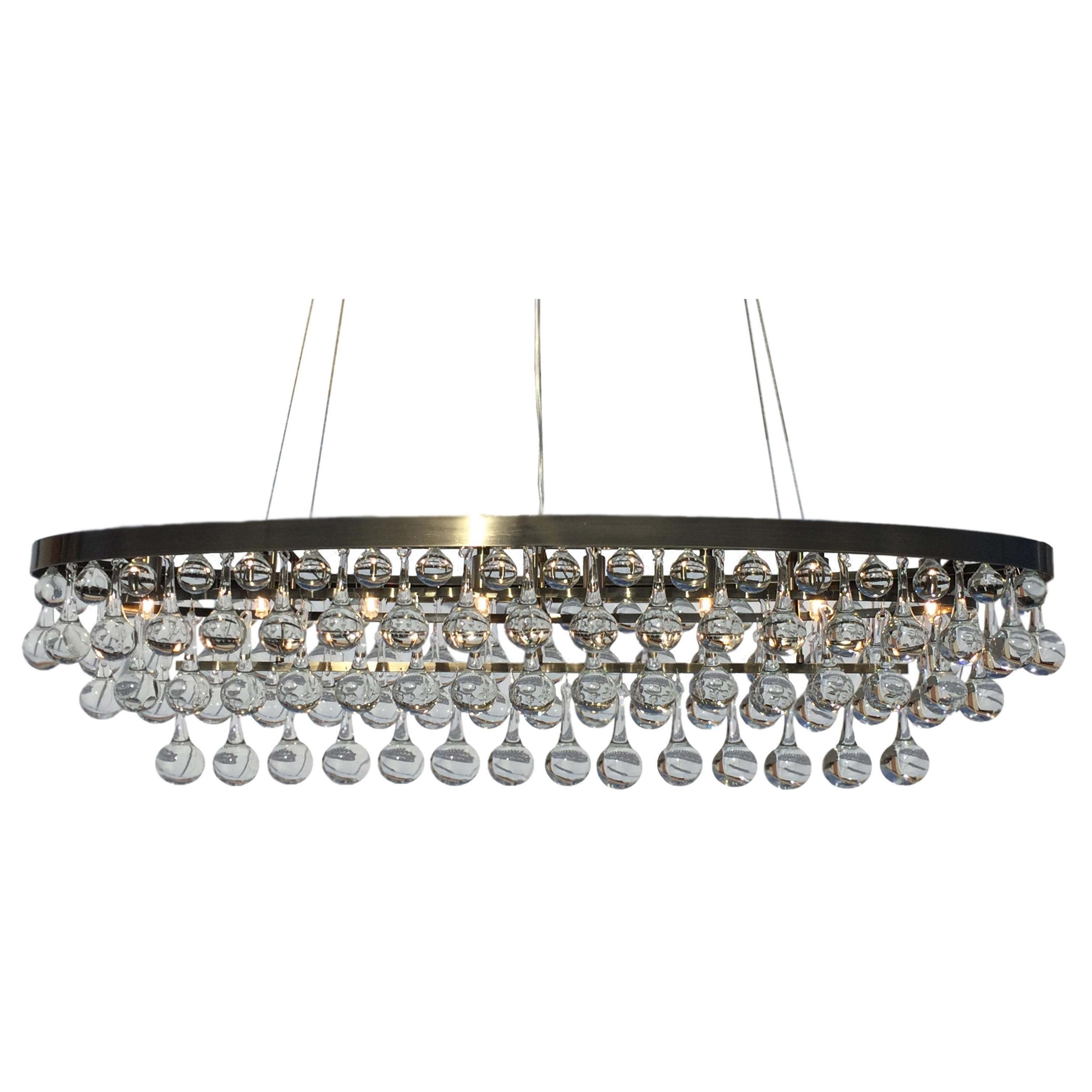 sculptures lr rectangular crystal clear large lighting chandelier light