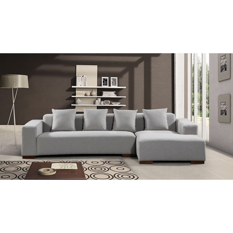 upholstered modish gra products fabric empress sofa set granite sectional eei piece modway store