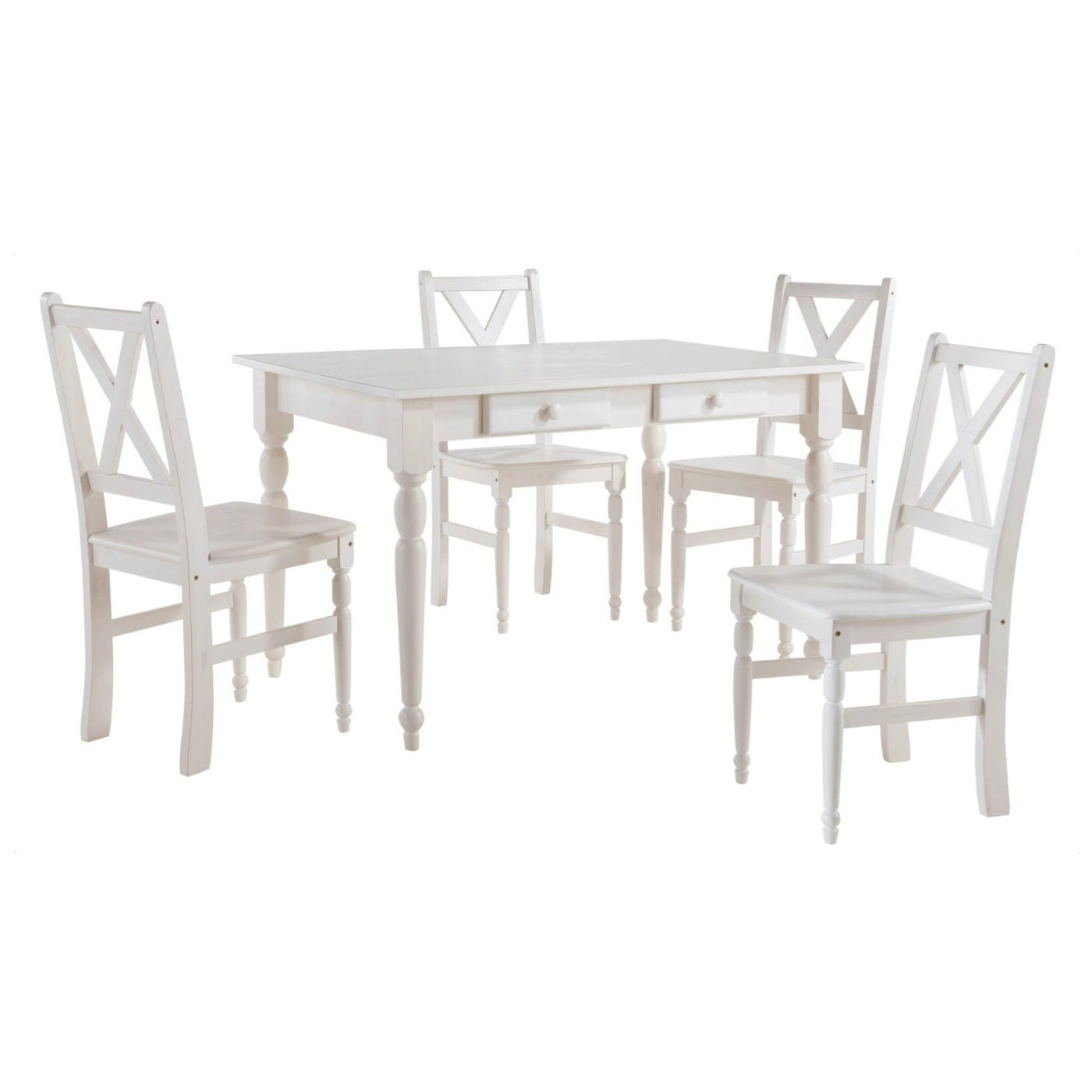 Scandinavian Lifestyle Noah Dining Table With Drawers