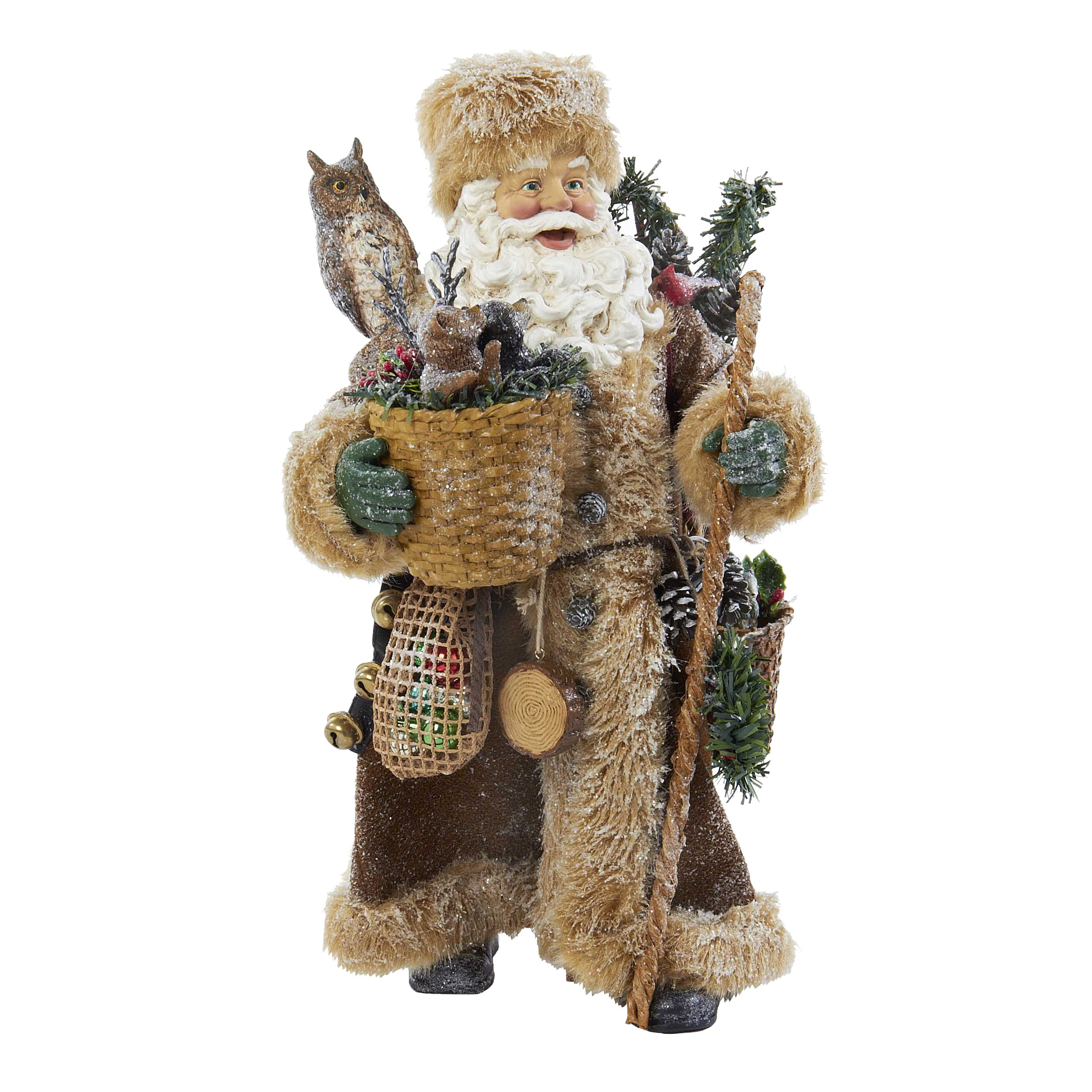 santas go ornament product scenic the on of decorative decor goodies santa s bag