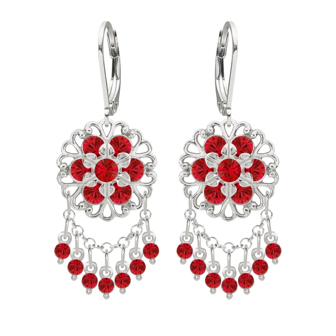 Lucia costin silver red crystal chandelier earrings free shipping lucia costin silver red crystal chandelier earrings free shipping today overstock 17670686 arubaitofo Choice Image