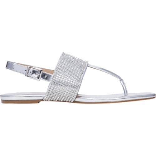 6cbcb624234f25 ... Thumbnail Women  x27 s BCBGeneration Wander Thong Sandal Silver Mirror  Metallic ...