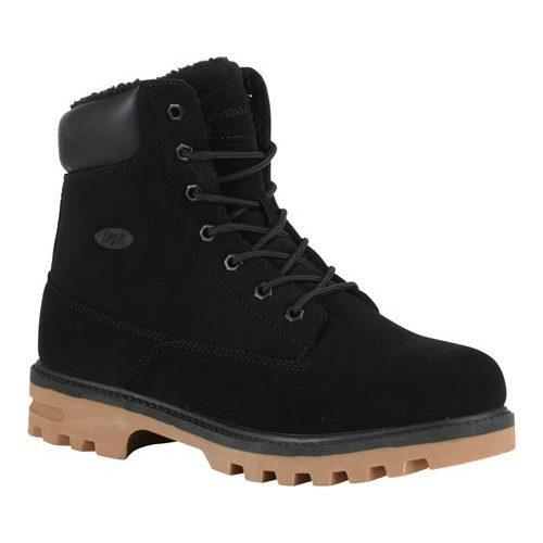 Men'S Lugz Black Gum Empire Hi Fleece Wr