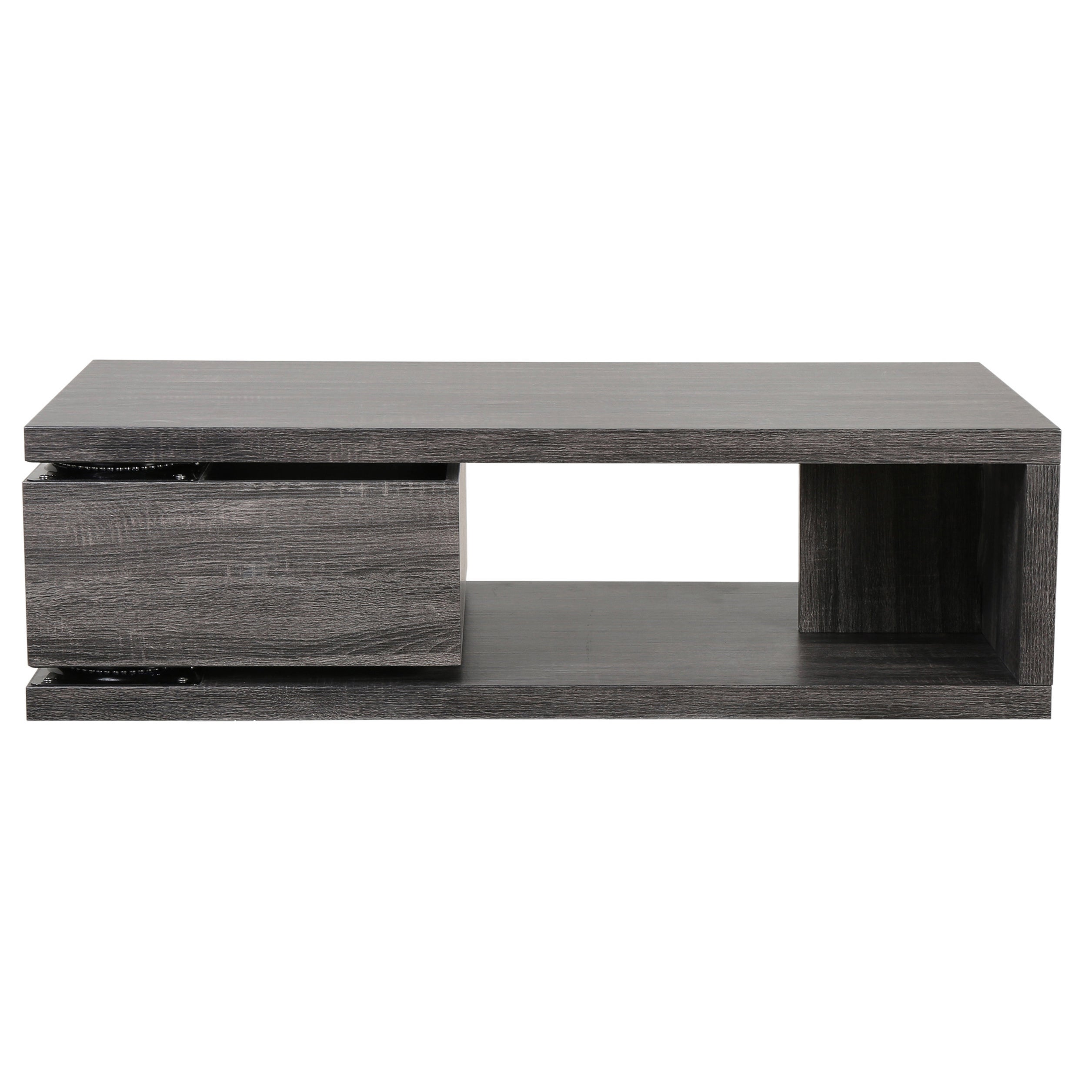 Jack Rectangular Rotating Wood Coffee Table by Christopher Knight