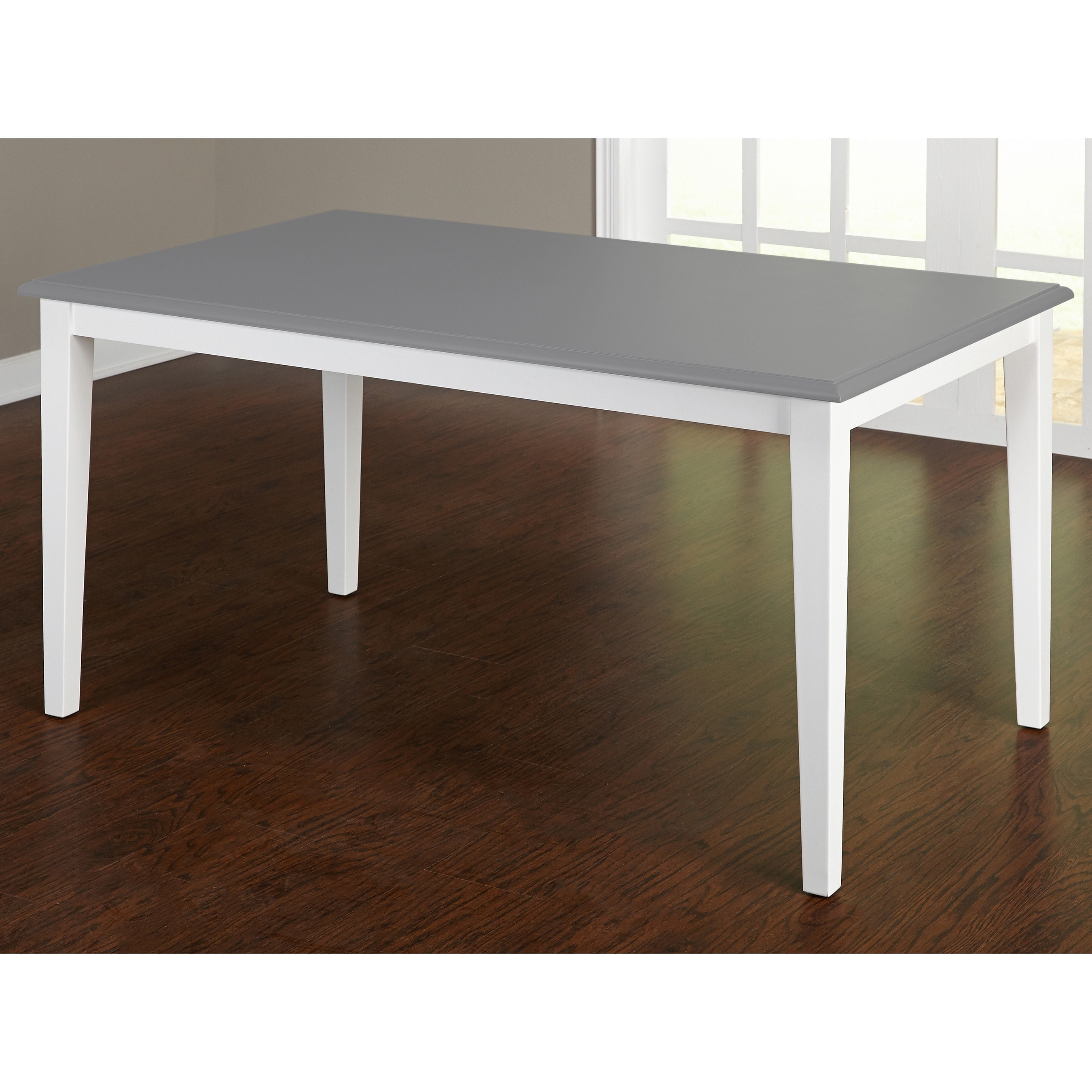 Simple Living Helena Dining Table Grey White