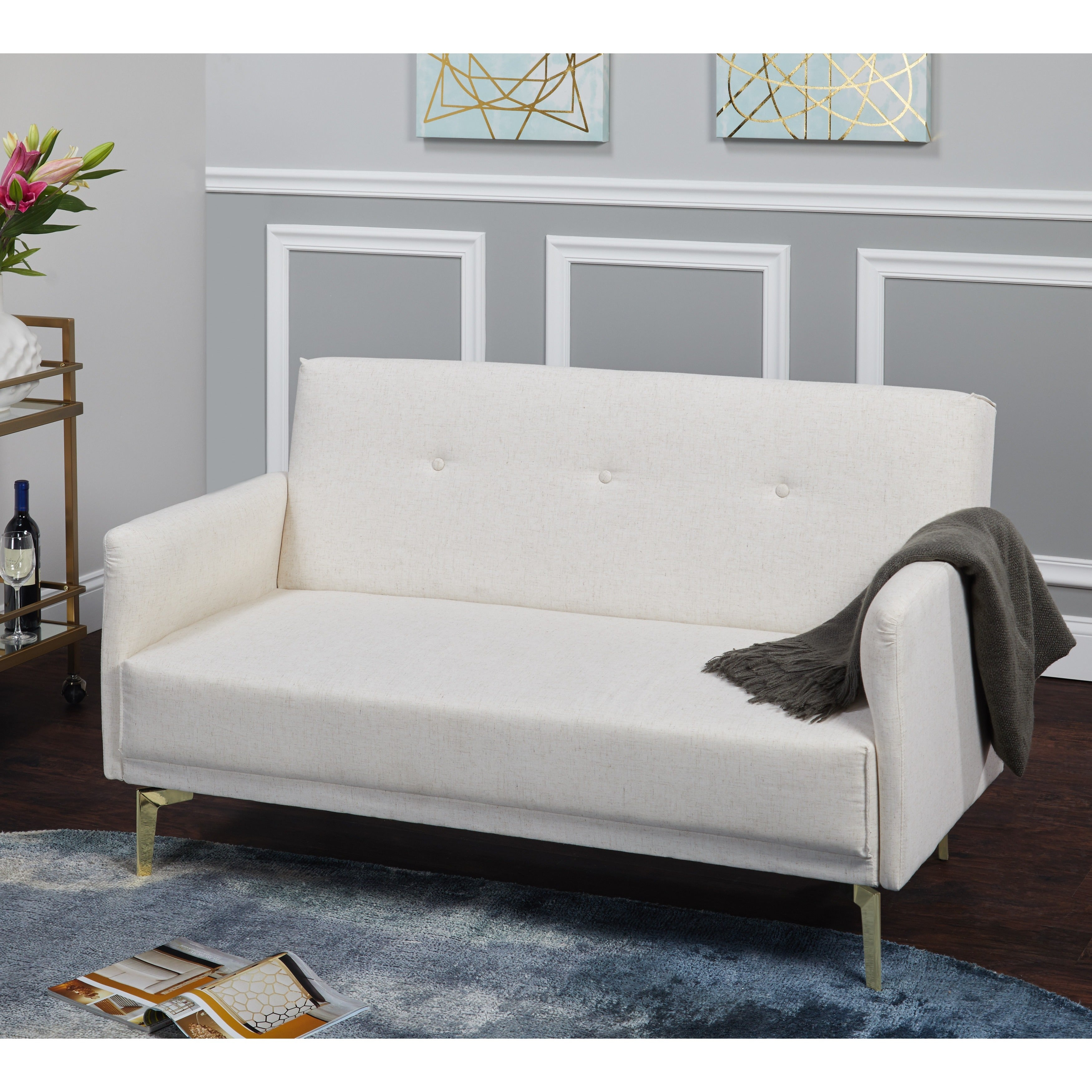 Shop Simple Living Franco Loveseat - N/A - Free Shipping Today ...