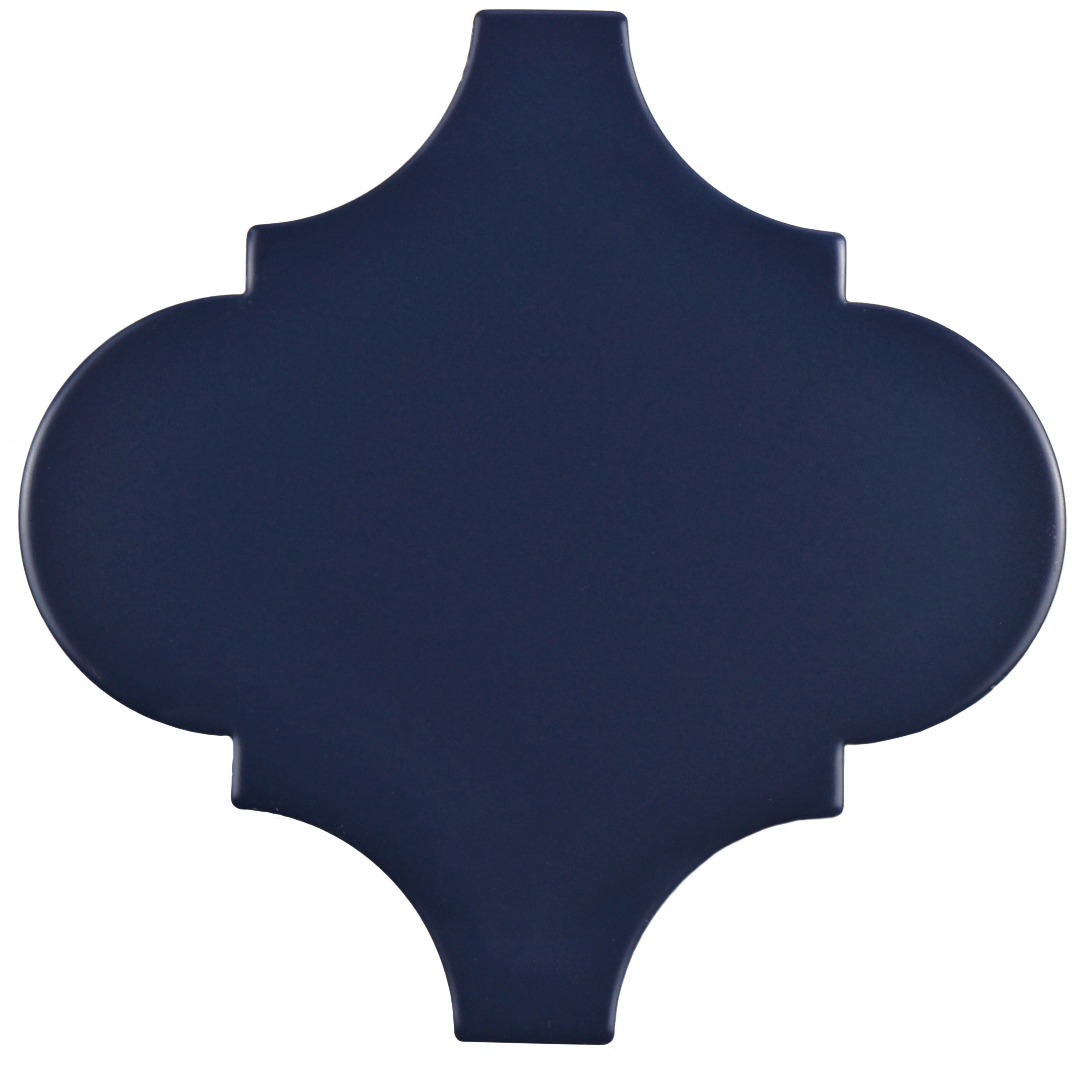 SomerTile 8x8-inch Francesco Lantern Bleu Porcelain Floor and Wall ...