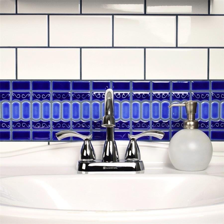 Shop SomerTile 3x6-inch Malda Subway Glossy White Ceramic Wall Tile ...