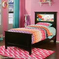 LightHeaded Beds Canterbury Black Twin Bed by Lifetime