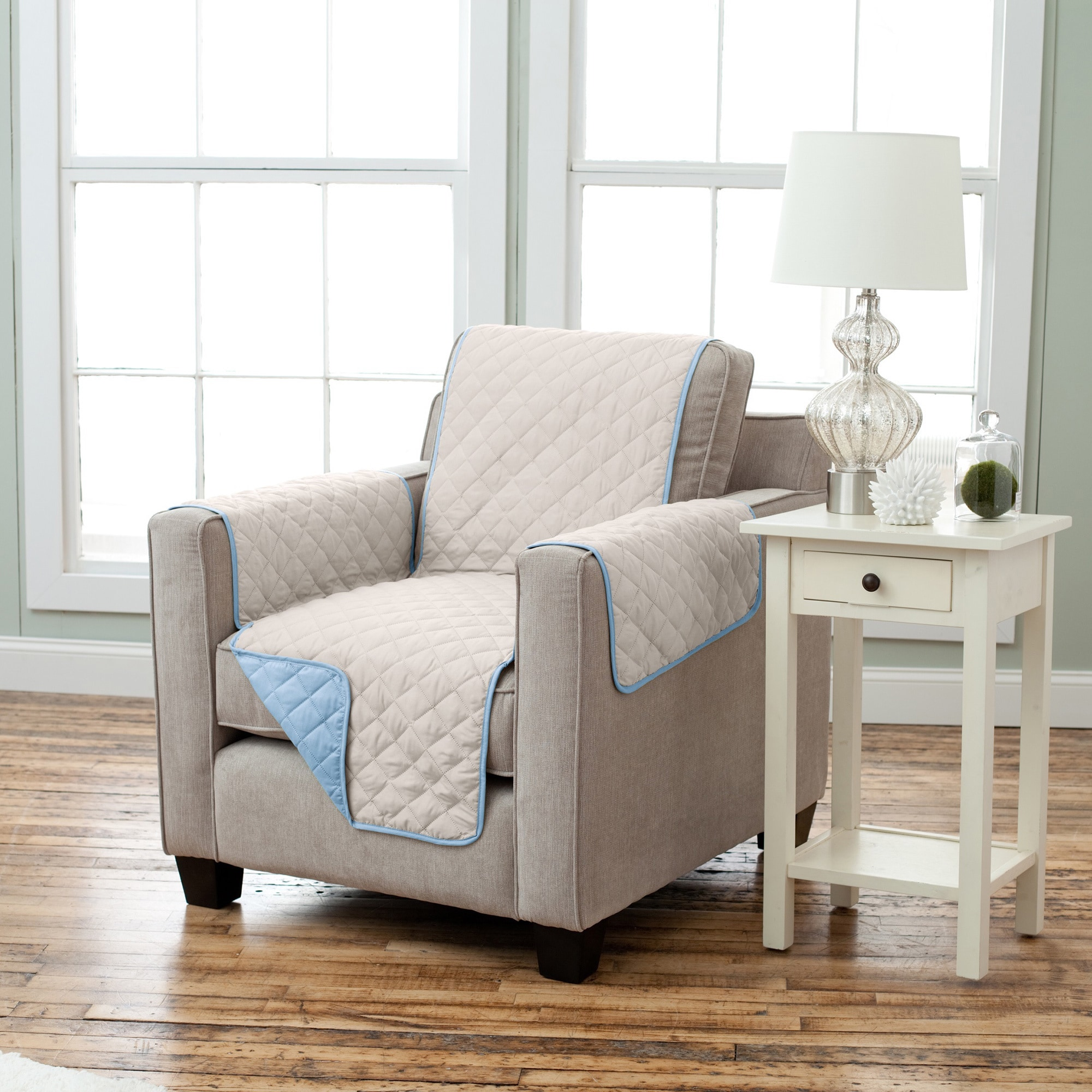 Home Fashion Designs Kaylee Collection Quilted Reversible Chair ...