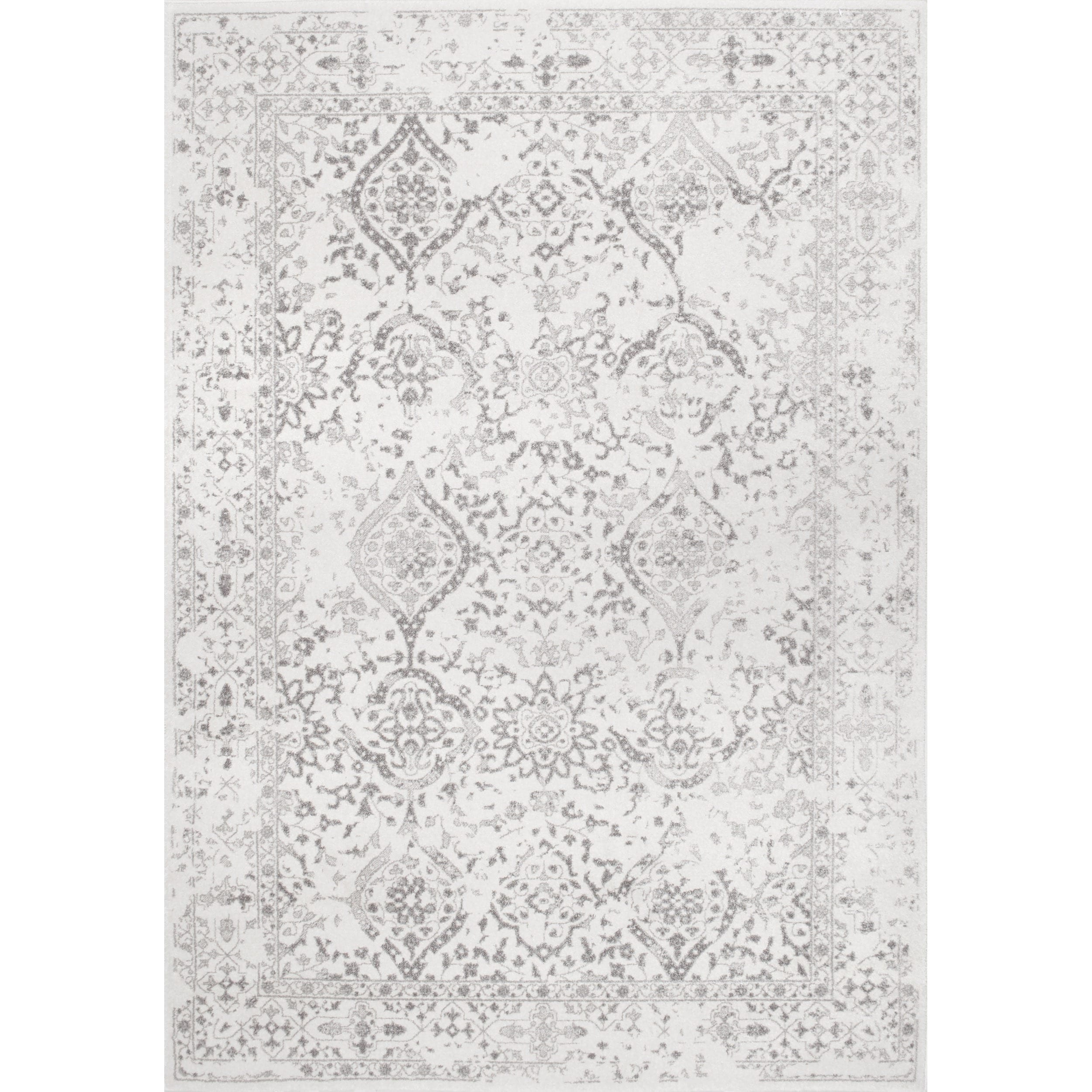 Maison Rouge Gibran Vintage Fl Ornament Ivory Area Rug 5 X 7 Free Shipping On Orders Over 45 Com 20170705