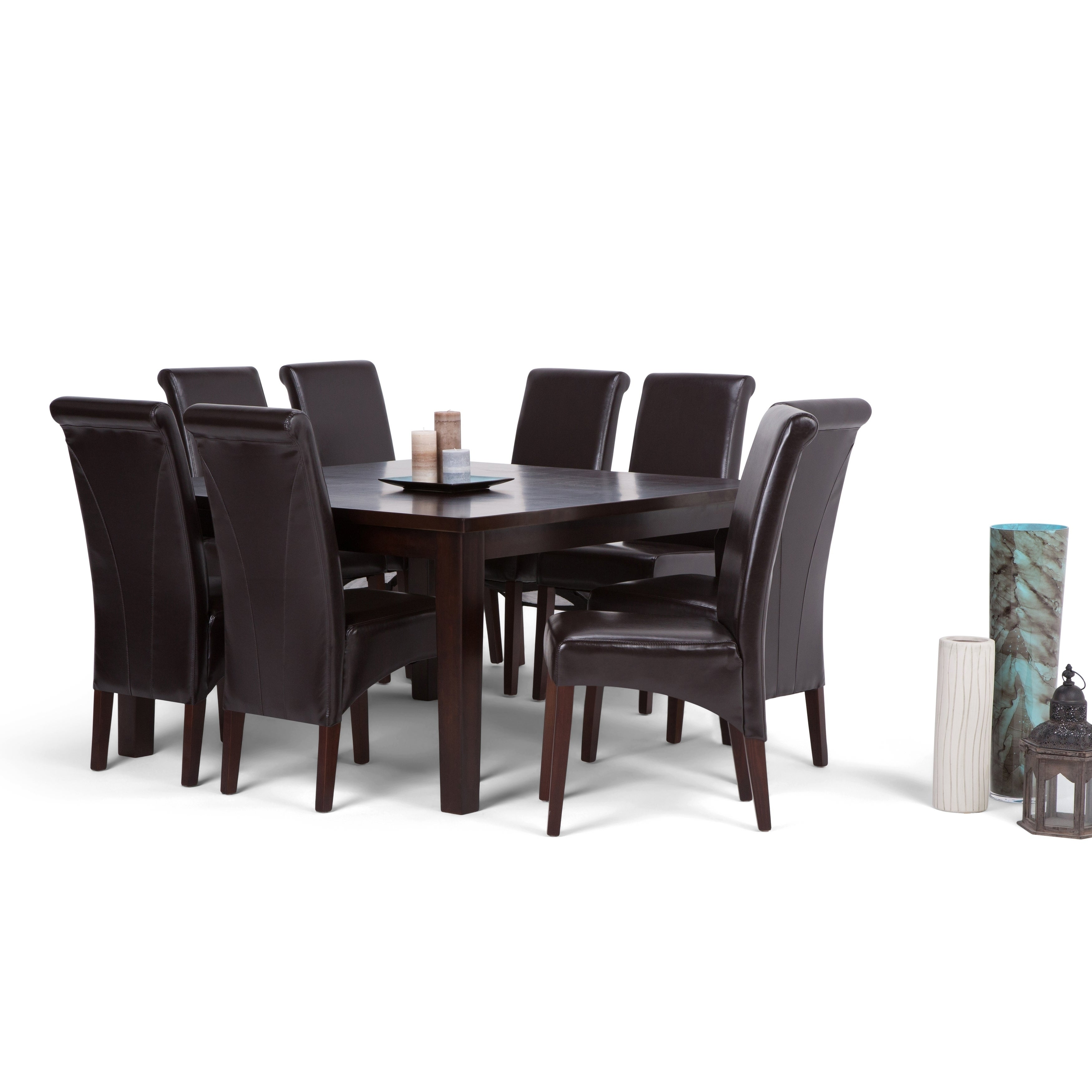 WYNDENHALL Franklin 9 Piece Dining Set   Free Shipping Today   Overstock    17682010