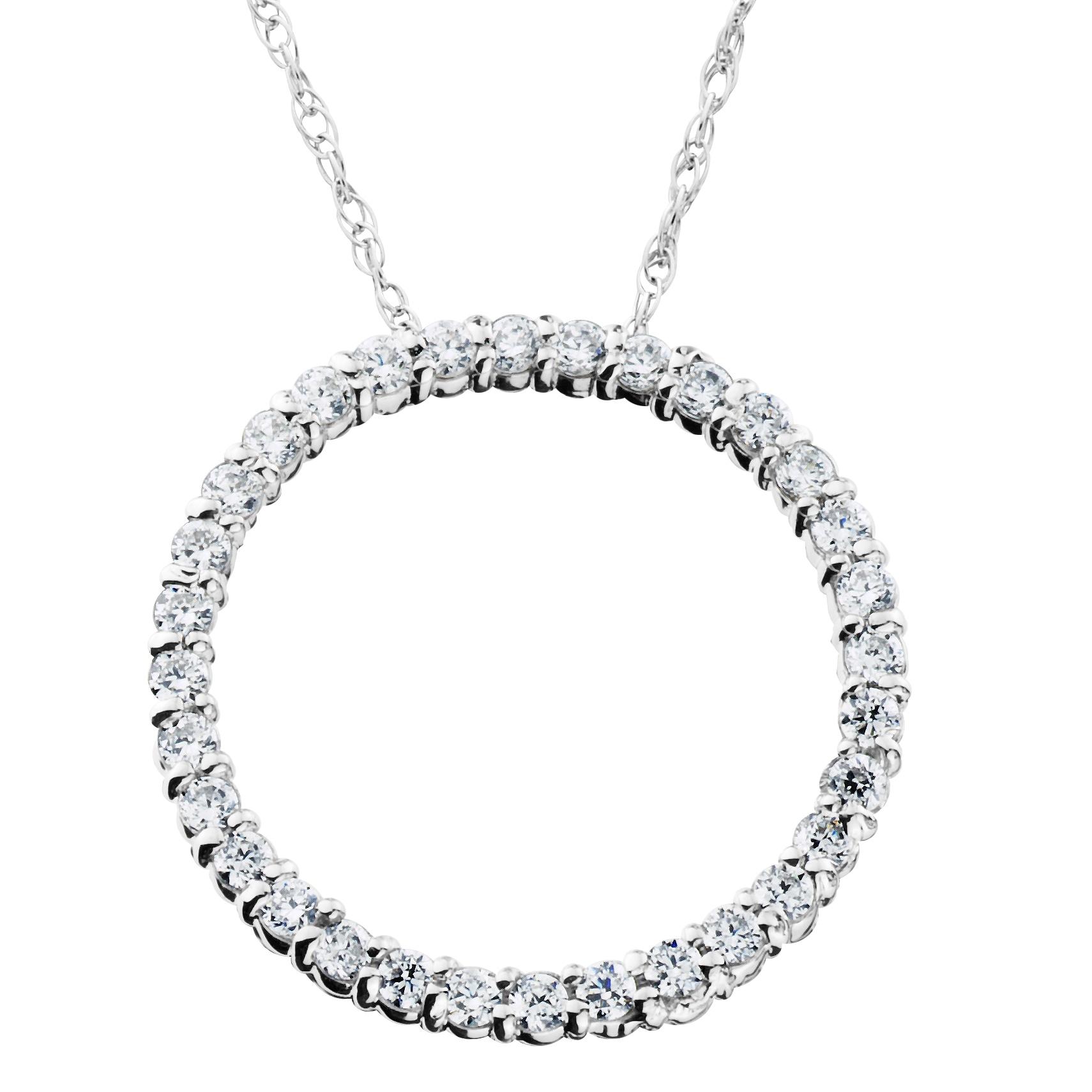 14k white gold 12ct tdw circle of life diamond pendant free 14k white gold 12ct tdw circle of life diamond pendant free shipping today overstock 17682724 aloadofball Gallery