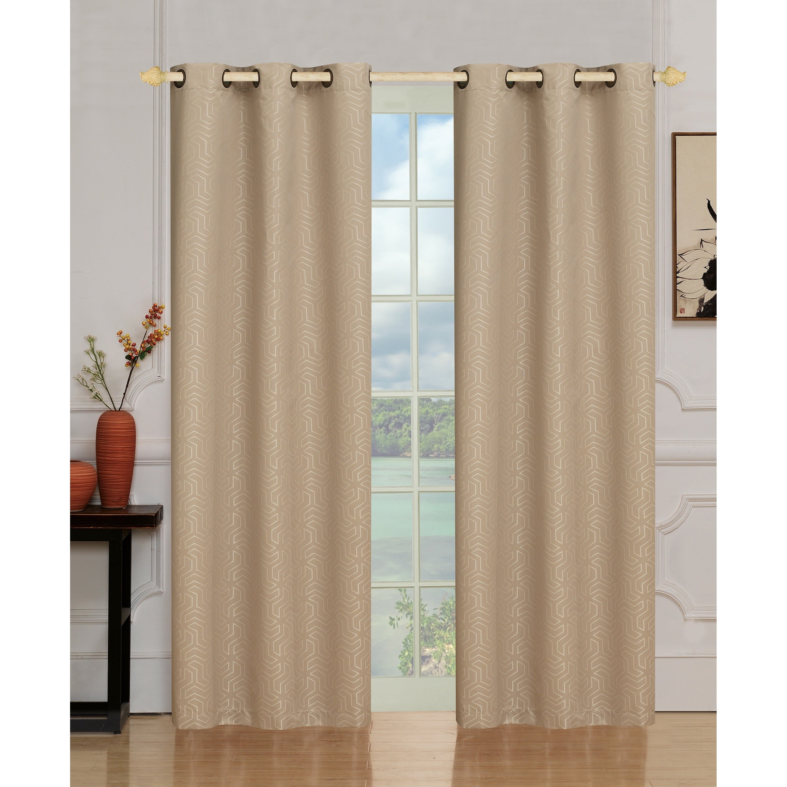 set and valance tier curtains fruit kitchen grommet chesapeake