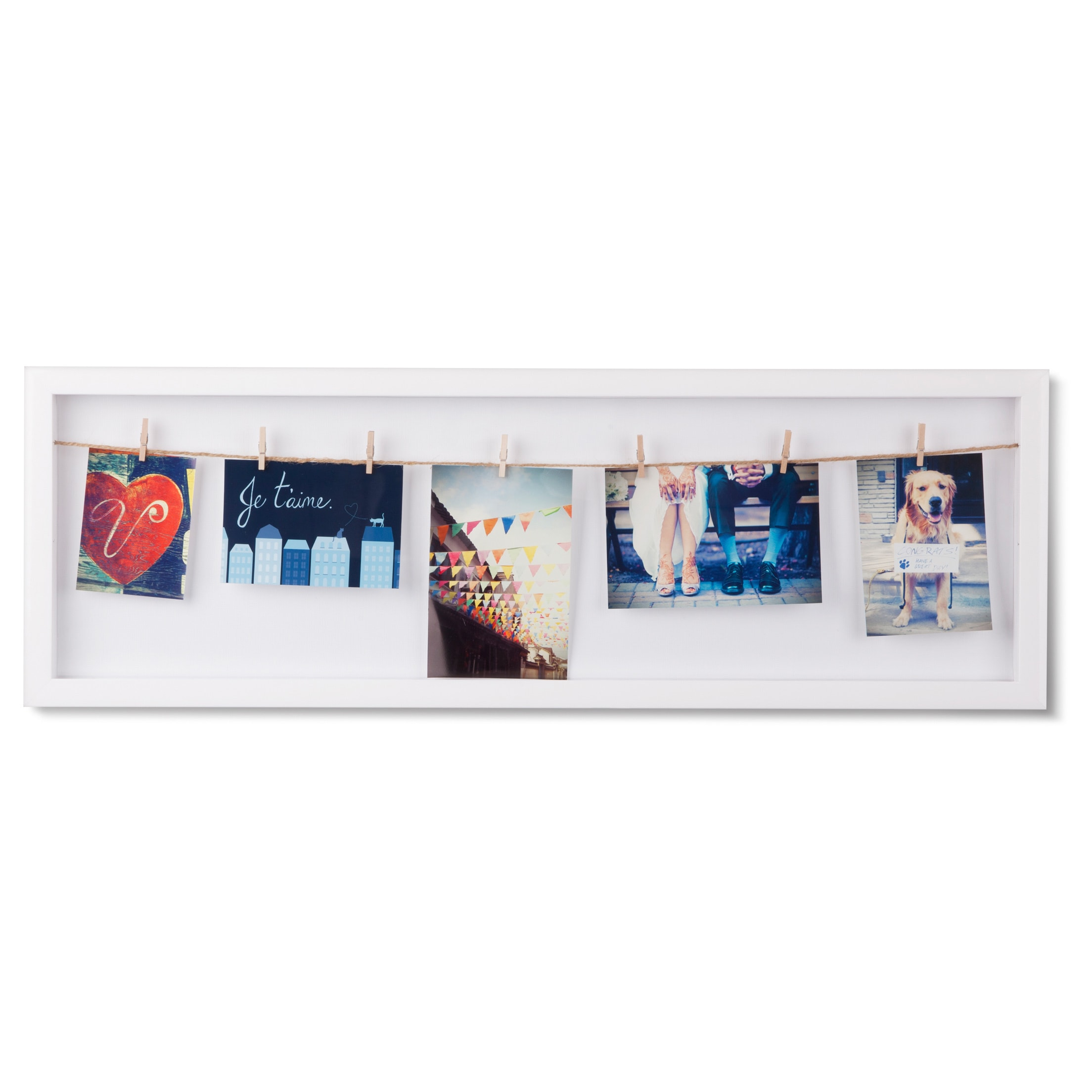 28.5-inch Umbra Clothesline Flip Photo Display - Free Shipping On ...