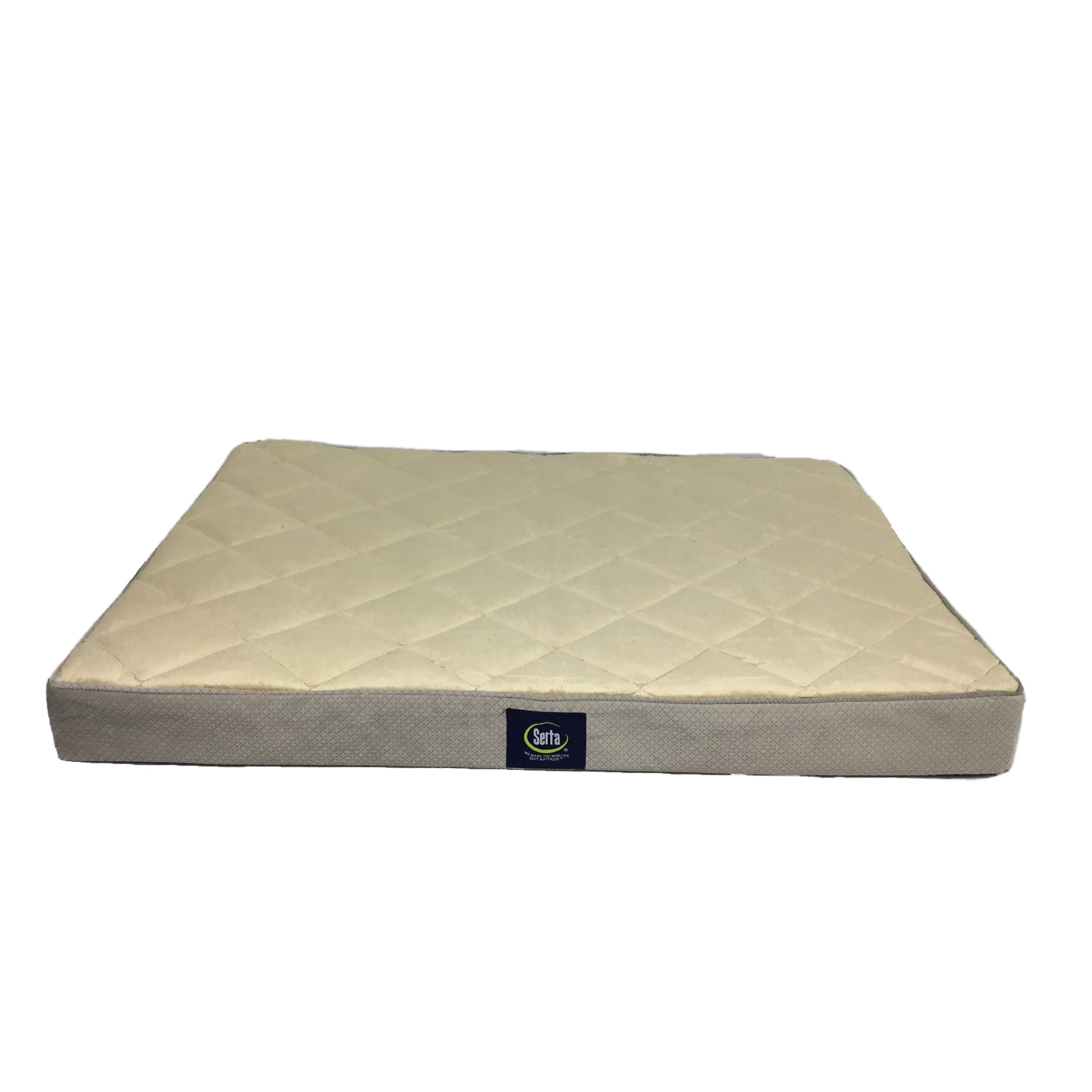 serta orthopedic quilted pillowtop pet bed free shipping today
