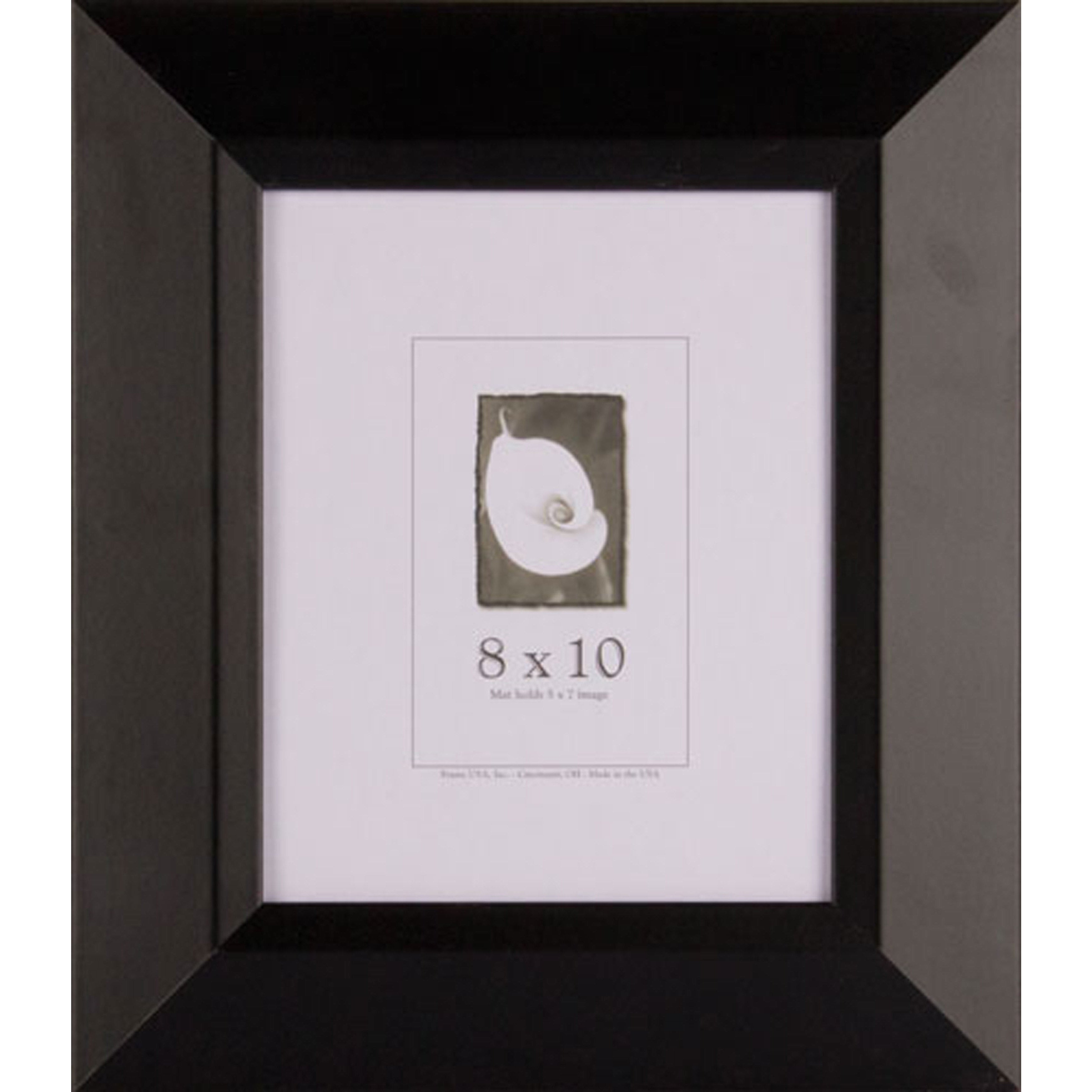 Shop Black Wide Picture Frame 8x10 - Free Shipping On Orders Over ...