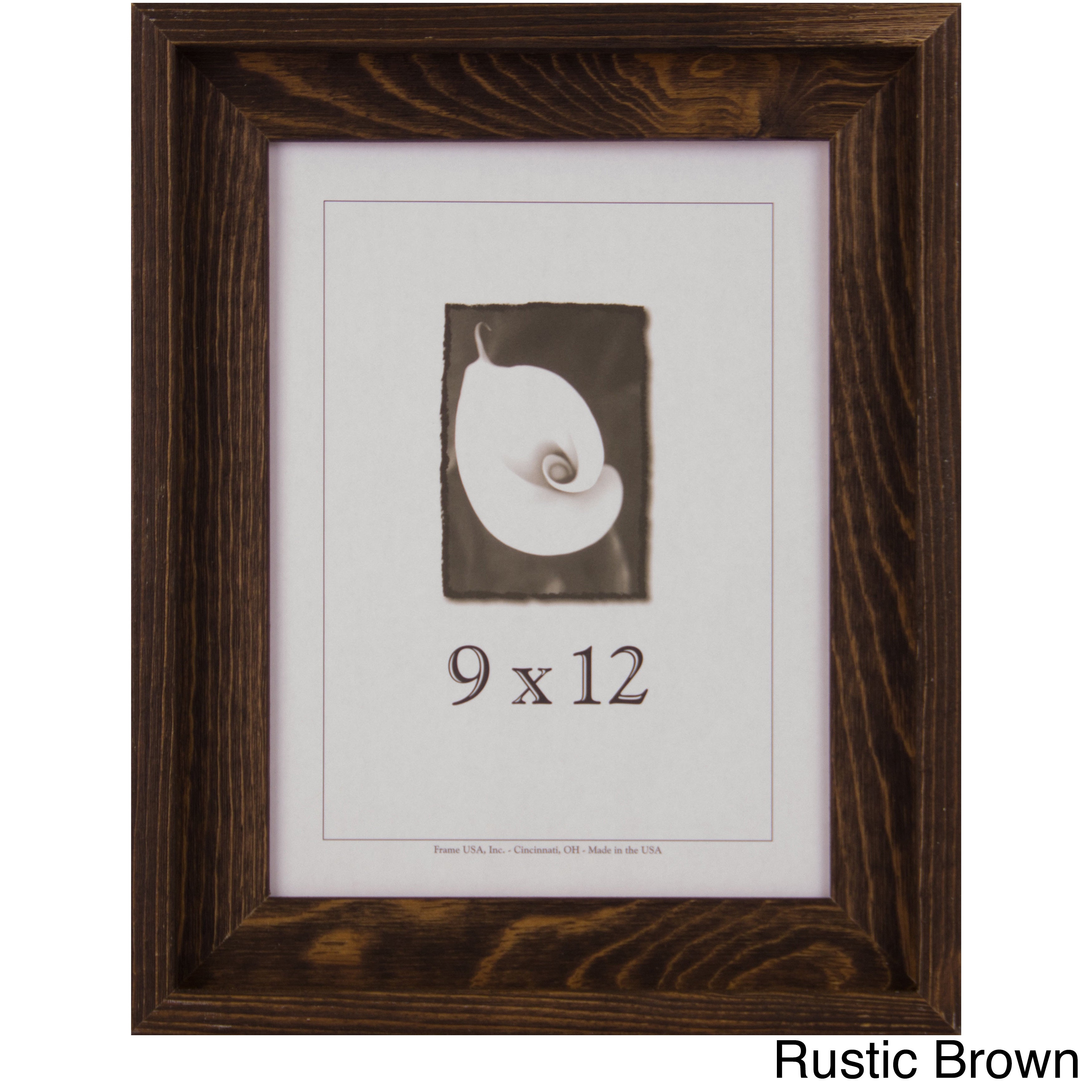 Shop Appalachian Barnwood Picture Frame 9x12 Free Shipping On