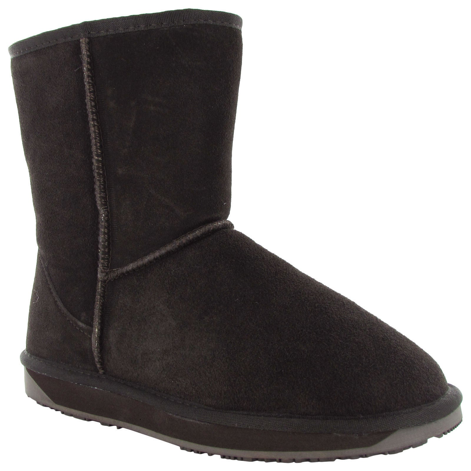 Womens Boo Roo Womens Eva Suede Merino Wool Winter Snow Boot Shoe Outlet Size 38