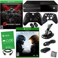 Xbox One 500GB Gears of War Ultimate Edition Bundle with HALO 5 and 8 in 1 Kit