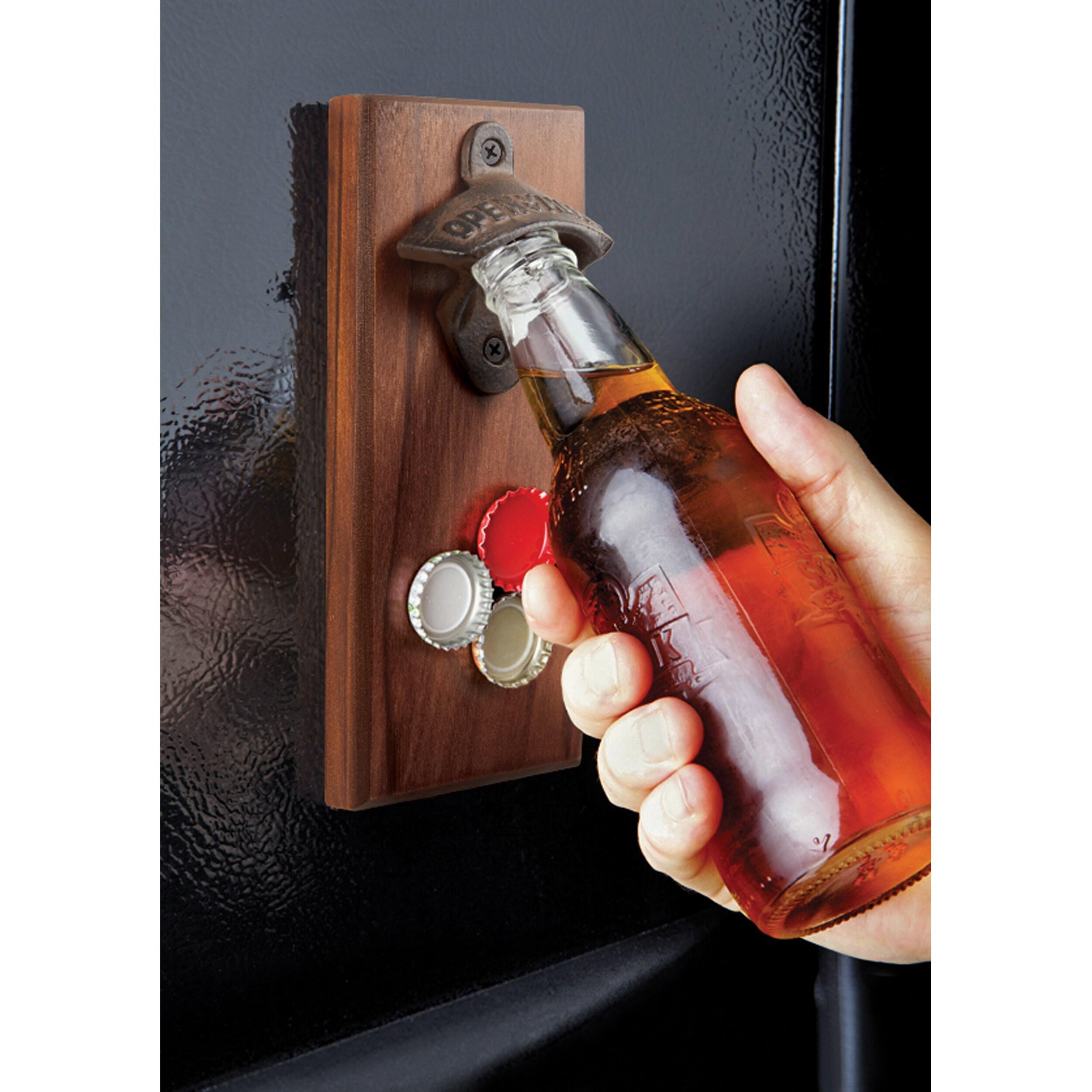 Shop Sharper Image Magnetic Bottle Opener Free Shipping On Orders