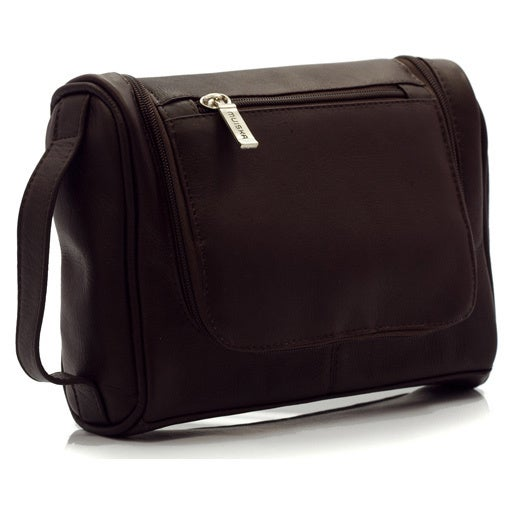 04eddfceb849 Shop Muiska Vaquetta Leather Dopp Toiletry Bag - Free Shipping Today -  Overstock - 10626201
