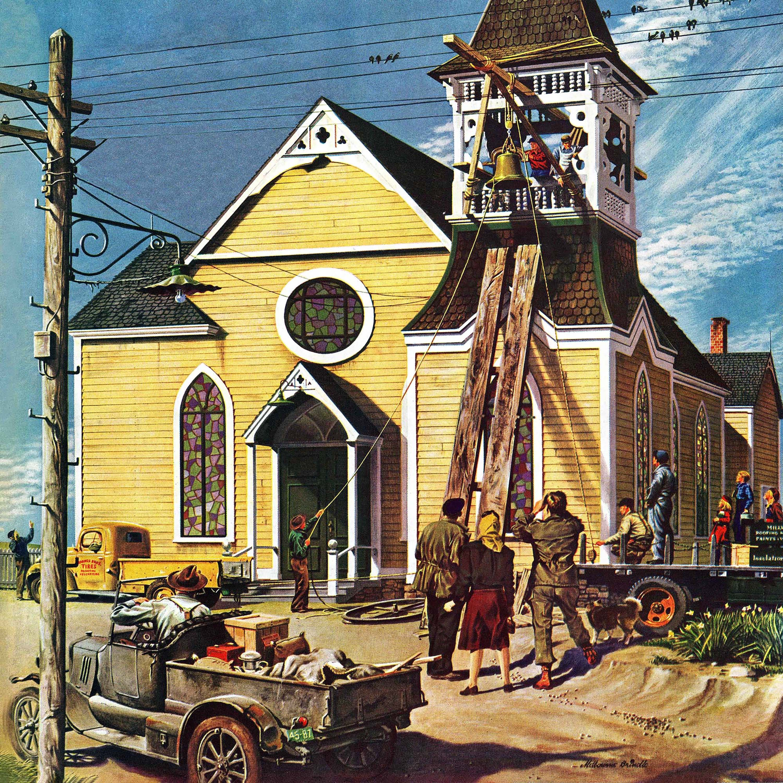 Shop Marmont Hill - Church Belfry Repair by Melbourne E. Brindle ...