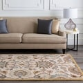 Hand-Tufted Patchway Wool Rug (8' x 11')