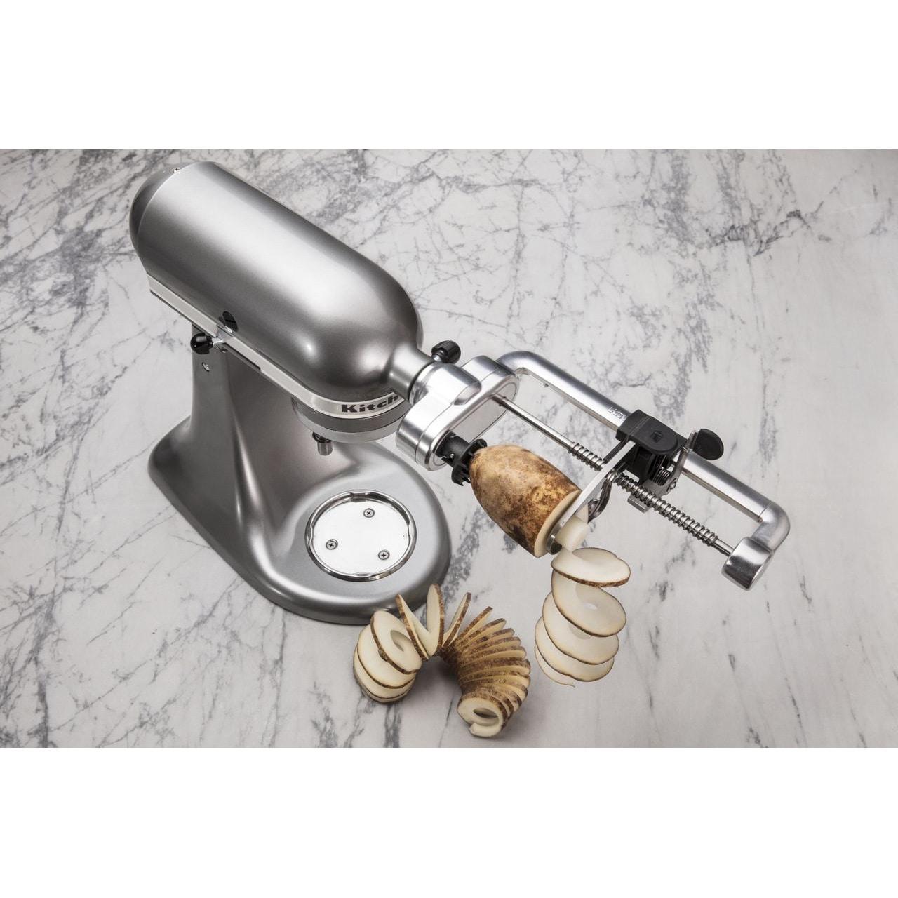 Shop Kitchenaid Ksm1apc Spiralizer Attachment Free Shipping Today