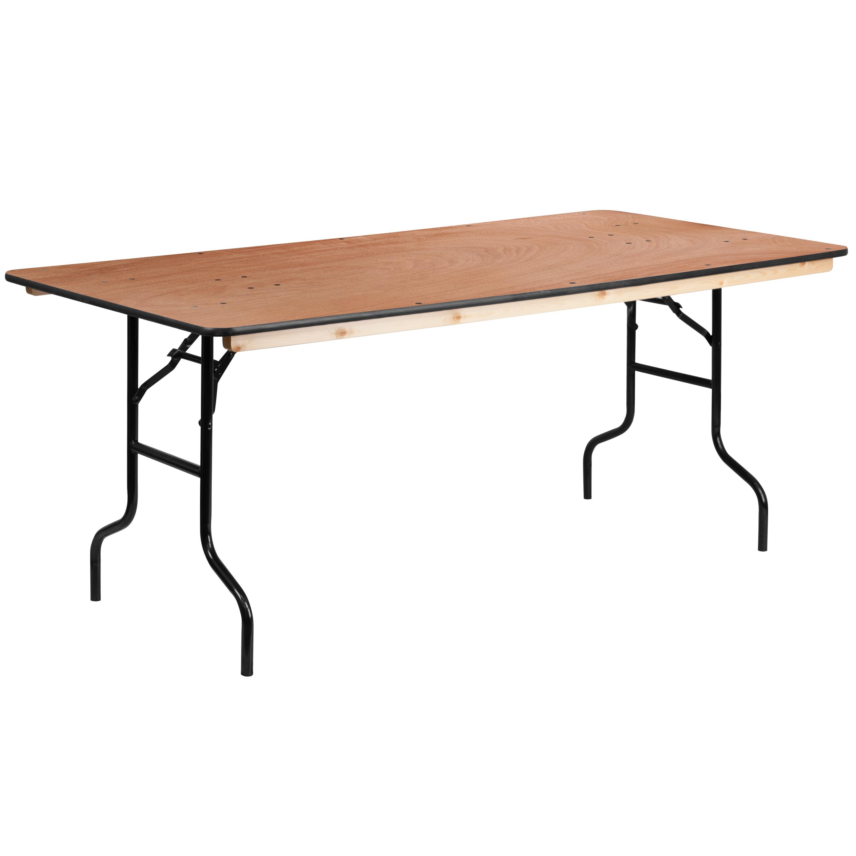 wood product table folding master cfm meco card straight edge mecostraightedgefoldingcardtable hayneedle