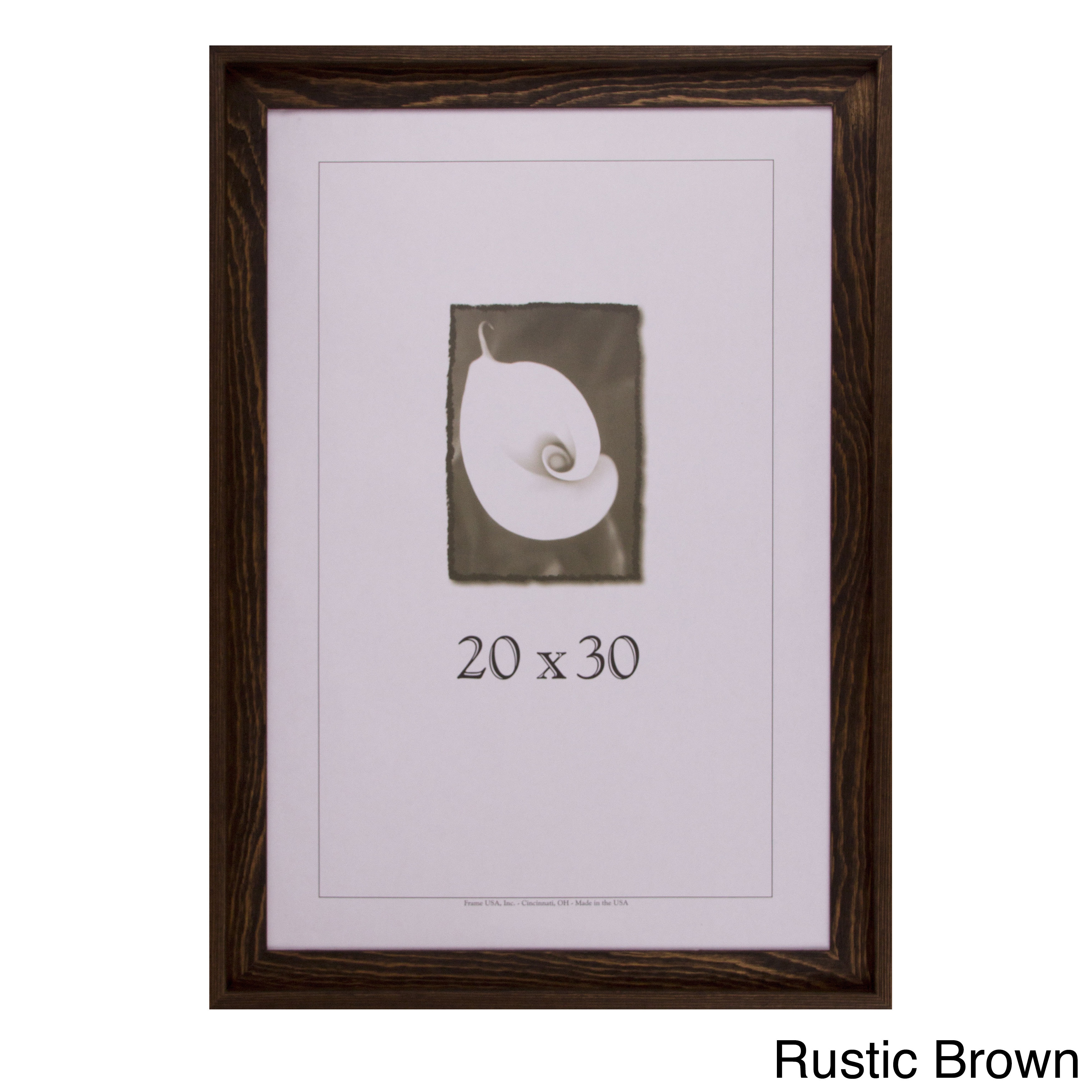 Shop Appalachian Barnwood Picture Frame 20x30 - Free Shipping Today ...