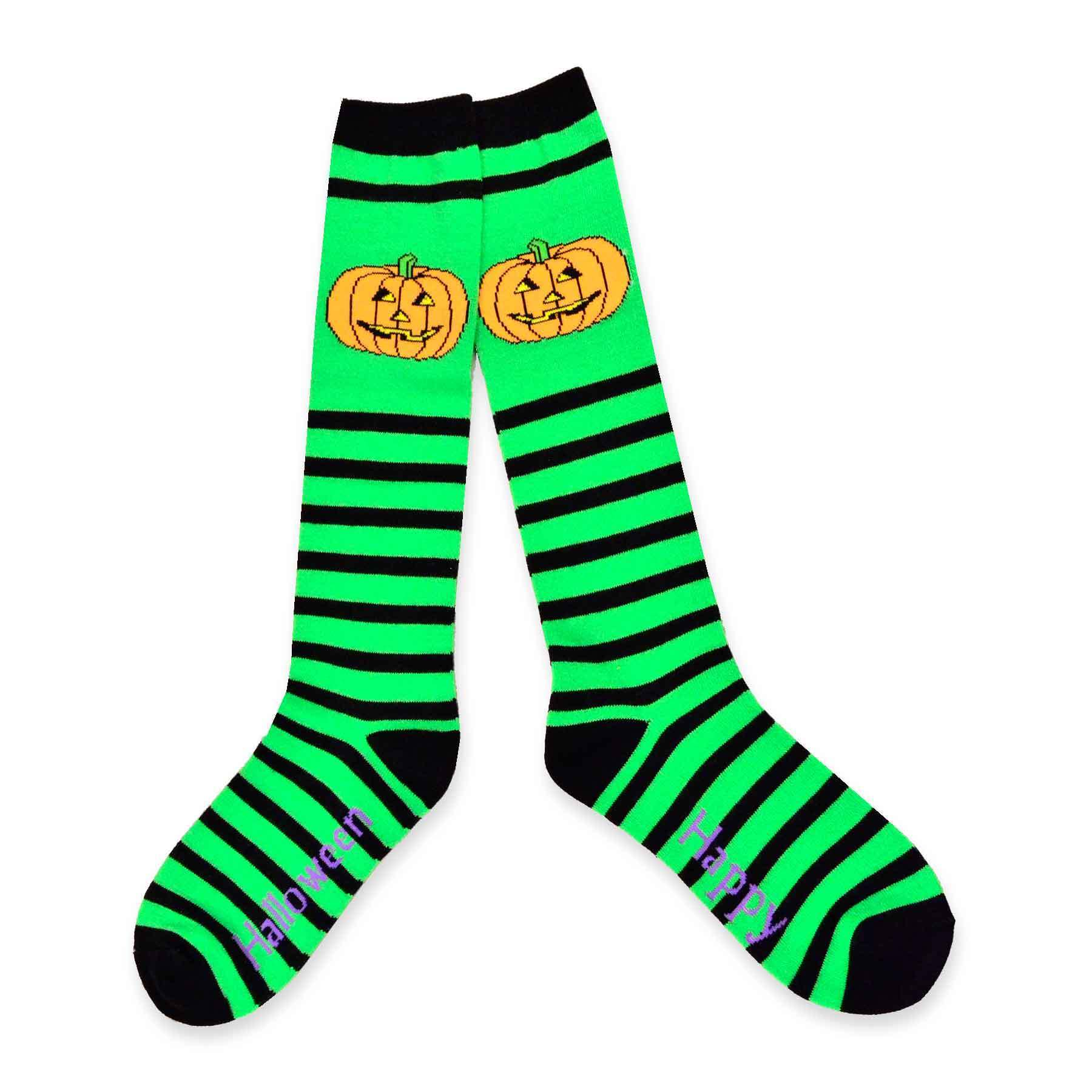 7c022b6232f Shop Women s Halloween Fun Crew Knee-High Sock Single Pair - Free Shipping  On Orders Over  45 - Overstock.com - 10639306