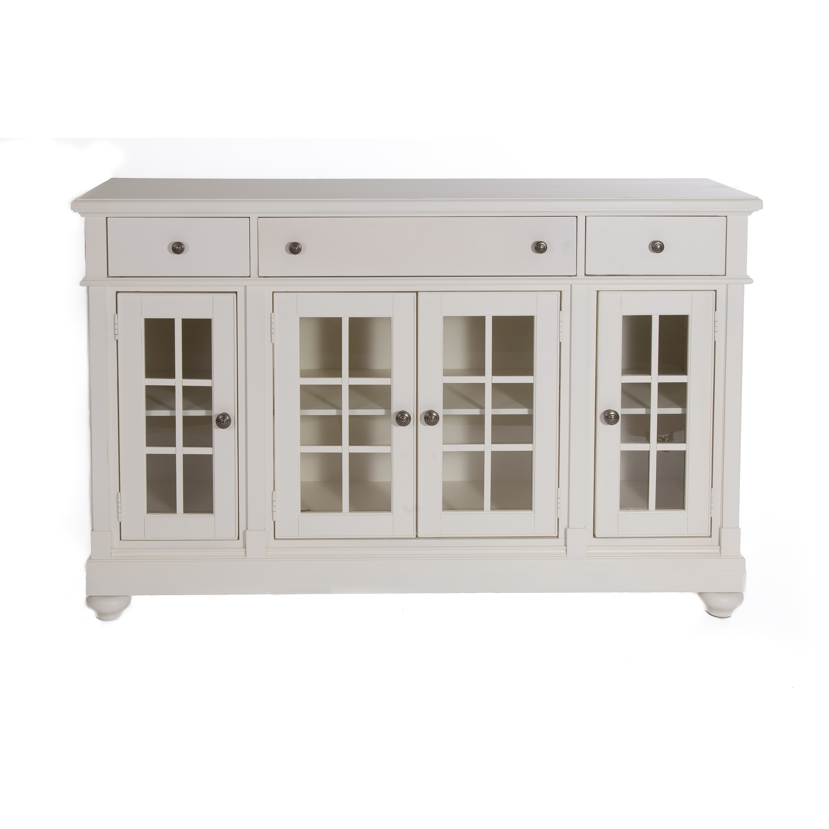 cottage harbor white buffet free shipping today overstockcom 17712117 - White Buffet