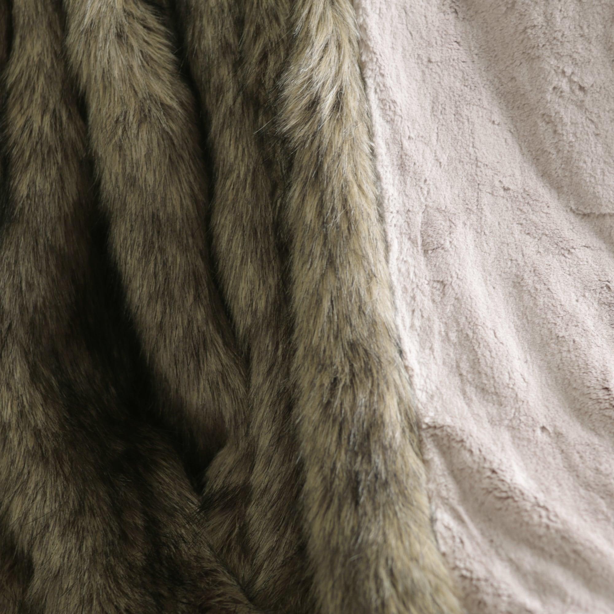 Shop Aurora Home Faux Fur Throw Blankets by Wild Mannered - On Sale ...