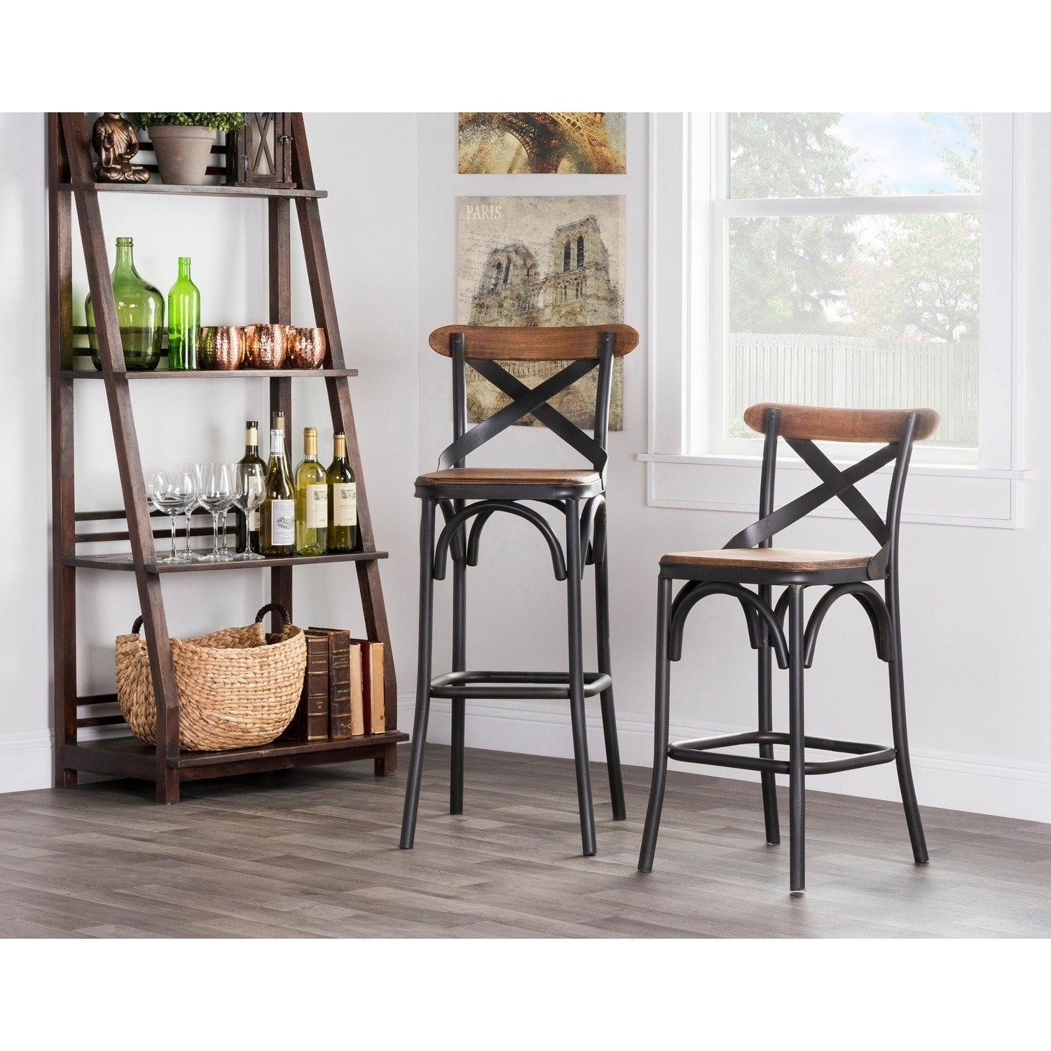 Bentley 24 Inch Counter Stool By Kosas Home  36Hx145Wx145D