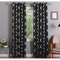 Aurora Home Moroccan Tile Room-Darkening Curtain Panel Pair - 52 x 108